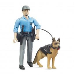 1:16 MUÑECO FIGURA POLICÍA...